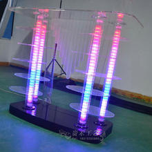 GH-D027 magnificent luxury acrylic lectern,party/club lectern