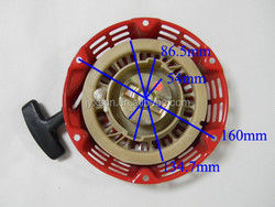 Best quality Honda Generator Spare Part 2kw Recoil starter 168