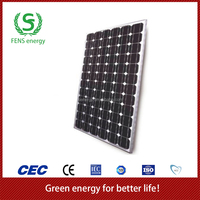 High quality 190w TUV/CE/IEC/MCS Approved Mono Crystalline Solar Panel,Mono Solar Panel System Use