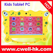 Boxchip 7C08 Kids Tablet PC with Handle for Children Cartoon Shape and Interface Android 4.4 7 Inch Touch Screen 8GB ROM