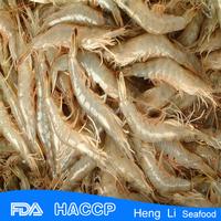HL002 frozen seafood wild catch bqf frozen shrimp brands