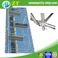 Silver construction scaffold and mobile scaffold for sale