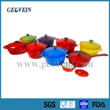 Enameled Cast Iron Cookware, Porcelain Coated Cast Iron Cookware