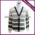 suéter rayado de la rebeca de 2013 hombres de la más nueva manera