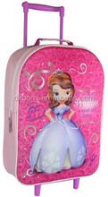 Kids School Wheels Trolley 3D Luggage Suitcase Girls Bag
