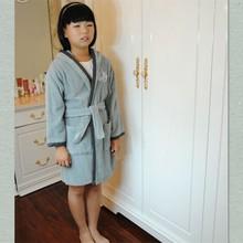 Com capuz de alta qualidade crianças Kimono Robe