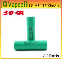 LG HB2 3.7v 1500mAh lghe2 18650 battery 30a lg 18650 high drain battery lgdahb21865