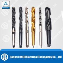 HSS DIN 345 Black Oxide Morse Taper Shank Twist Drill Bits