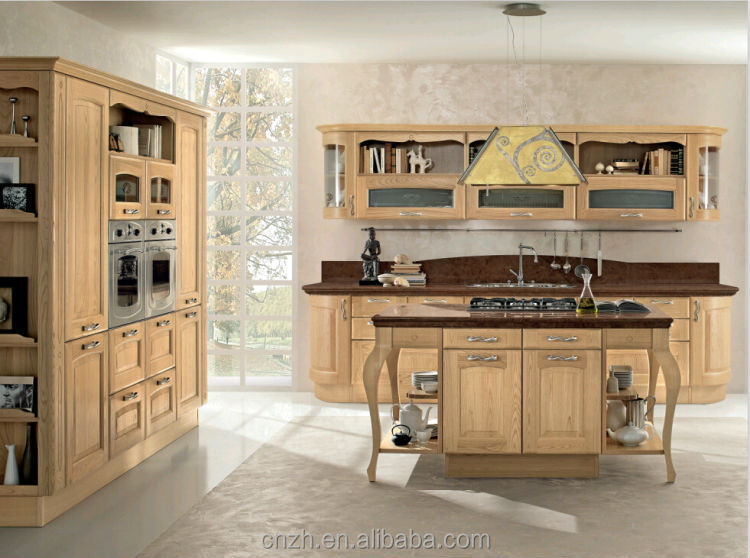 China made cheap kitchen cabinets with blum accessories for Cheapest place for kitchen cabinets
