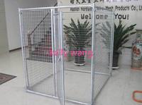 Haotian powder coated metal dog run fence panels factory