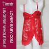 Natural Pretty Halter Red Lace 2014 Sexy Lingerie Open Panty Sexy Lingerie Panty Sexy Lingerie