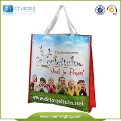 wholesale factory cheap woven bag fashion tote bag for shopping recyclable school bag