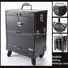 Studio professional 360 degree Trolley/Rolling Makeup Case with Wheels wholesale
