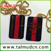 Metal Military Dog Tag Necklace TC-2327