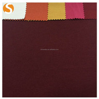 Solid TR Spandex Ponti Roma knitted fabric for wholesale