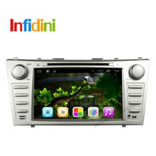 "8"" 2 DIN Android 4.4.2 Car DVD GPS Player Navigation For Toyota Camry 2007 2008 2009 2010 2011 with WiFi /free 8G Card and Map"