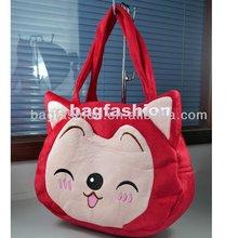 Girls Cartoon Lovely Peach Ali Pattern Cute Toys Tote Bag