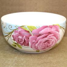 Pink Ceramic Mixing Salad Bowl