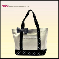 New design Leather Tote Handbag made in China