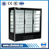 Built-in upright chiller with glass door