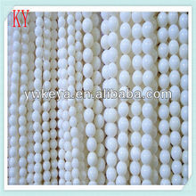4mm Round Natural White Coral