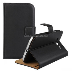 Genuine leather wallet case for Samsung Galaxy Grand Neo i9060 protective case