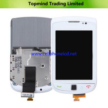 For BlackBerry Torch 9800 LCD, for BB 9800 LCD Assembly with Front Housing (LCD-26252-002-111)