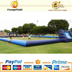 30X20m Large inflatable football pitch, inflatable soccer pitch for sale