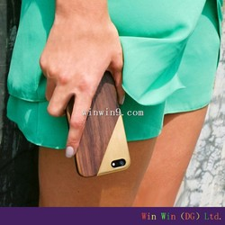 Wooden Case For iPhone6, DIY Blank Hard Back Optional Wood cell phone cases manufacturer in China