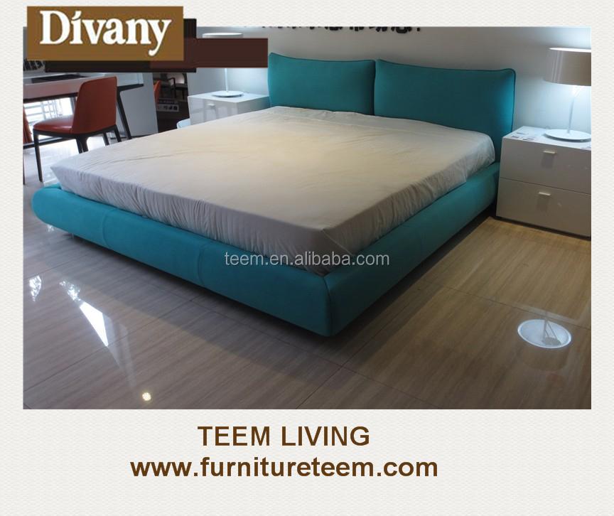 2015 new design modern bedroom furniture fabric leather for Bedroom furniture designs 2015