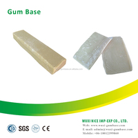 Natural organic bubble gum base