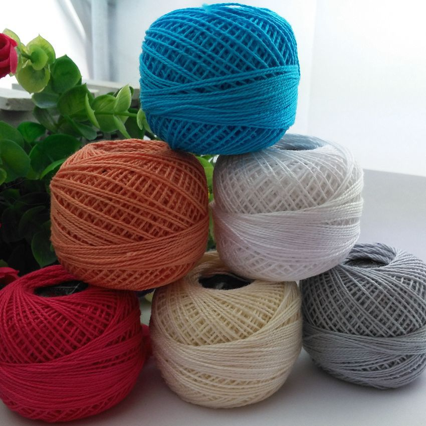 Нитки для вязания и вышивки