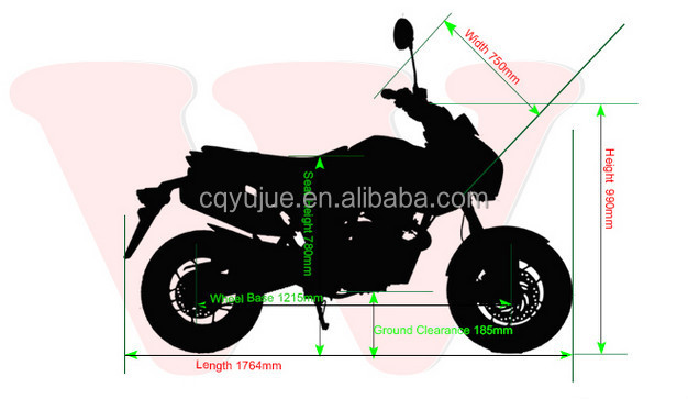New Design Racing Bike, Motorcycle,Motorbike with 125cc/135cc Engine