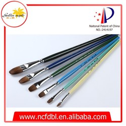 High Quality Art Supplies High Quality Professional Drawing Brushes for Kids, Students Weasel hair