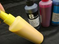 No head clogged, inkjet ink. bulk dye ink