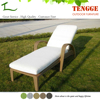 1 Person Sunbed Wicker Rattan Outdoor Patio Lounge Chair