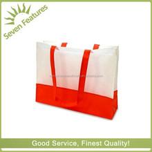 silk screen printing shopping bag , pp Non Woven Disposable Carry Bags