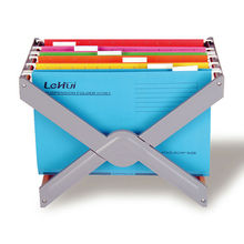 Convenient Paper Hanging File Folders with Reinforcement Tape on the Bottom, 5 Tab, 25/box
