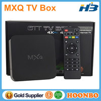 2015 Hotest Quad Core HD Sex Pron Video TV Box MXQ Amlogic S805 Android 4.4 Internet TV Box