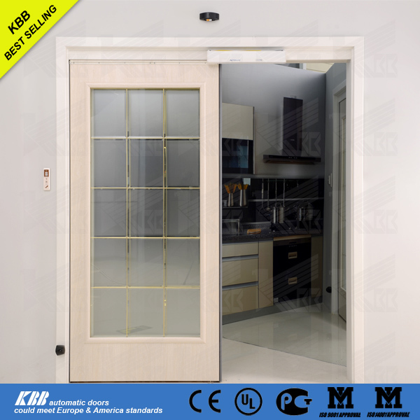 Kbb residential commercial automatic sensor glass sliding for Residential sliding doors