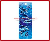 Plastic Lenticular 3D Bookmarks/bookmark