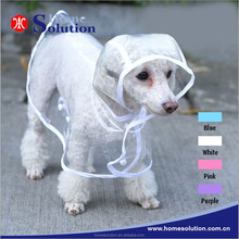 dog raincoats waterproof pet clothes OEM service ten years