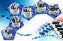 Oil free piston type dental air compressor