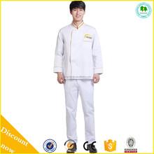 Japanese Chef Coat Uniform Long Sleeve For Men