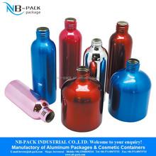 Aluminum cosmetics bottle