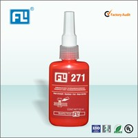 Rearview mirror anaerobic adhesive