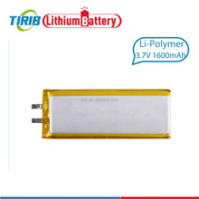 Alibaba wholesale 3.7v Lithium Polymer Battery 1600mah for E-book