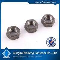China hot sale top quality Sale China stainless decorative m6 m8 m10 m12 m16 hex nuts and screws galvanized hex nut