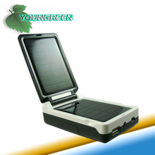 Portable Solar Panel Charger and Flashlight