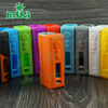 RHS factory wholesale Hcigar vt 40 skin/sticker silicone enclosure for box mod 40w box mod Hcigar vt40 silicone case 19 colors